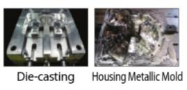 Diecasting, mold Image