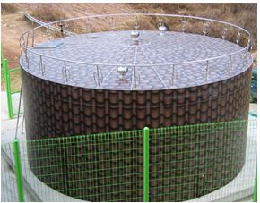 Cylindrical STS Water Tank