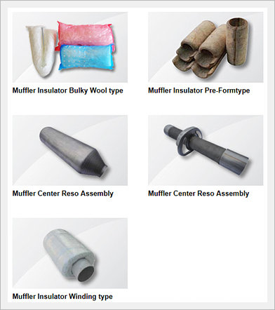 Exhaust System Parts Image