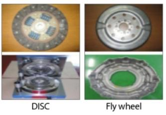 DISC, Fly wheel, Cover Plate, DISC Plate Image